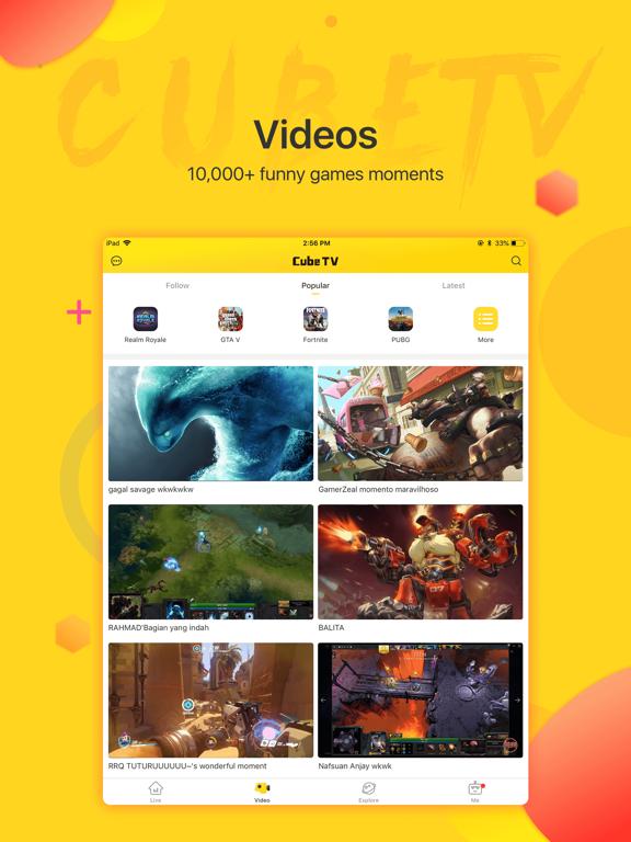 Cube TV – Live Games Community screenshot 10