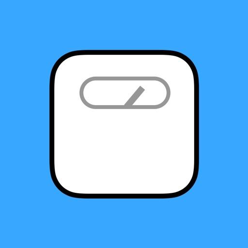 Heikin: Average Weight Tracker icon