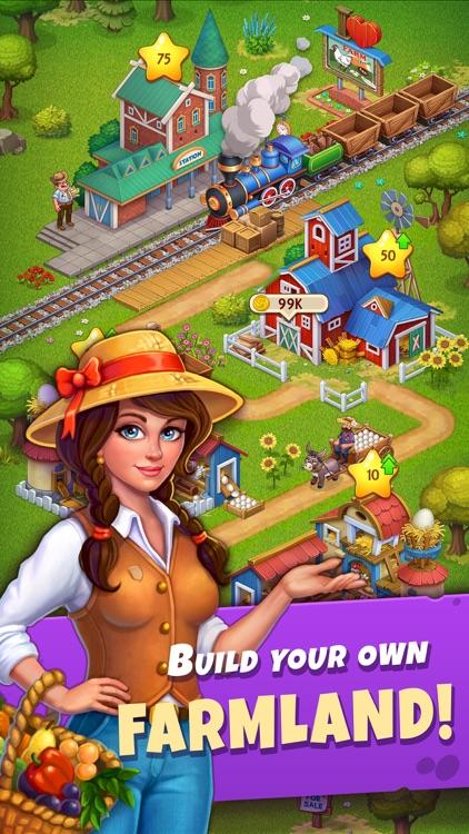 My Idle Farm: Township Saga screenshot-0