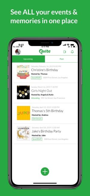 Evite: Online & Text Invites on the App Store