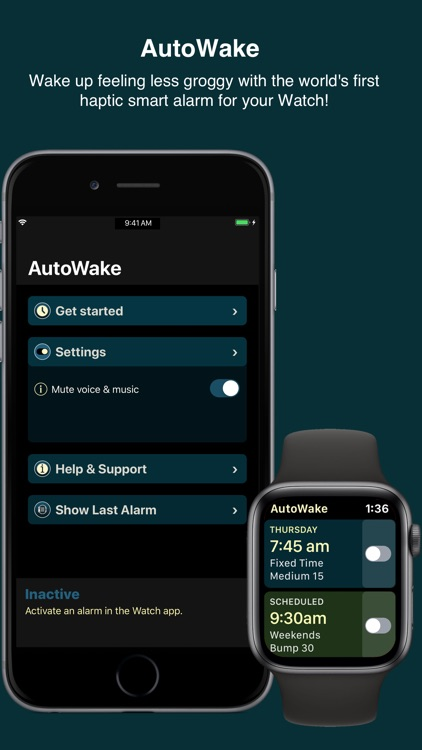 AutoWake. Smart Sleep Alarm