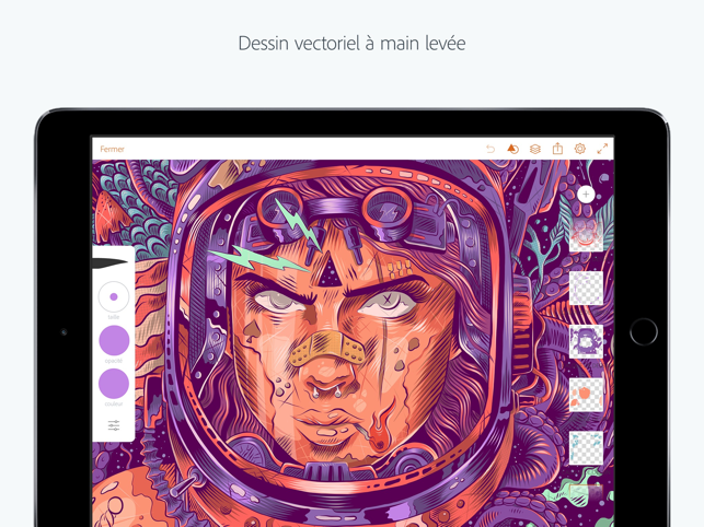 ‎Adobe Illustrator Draw Capture d'écran