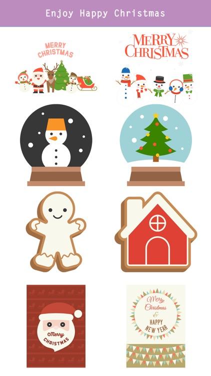 Happy Christmas Set - Animated screenshot-3