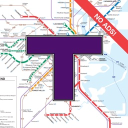 MBTA Boston T Map -- Ad Free