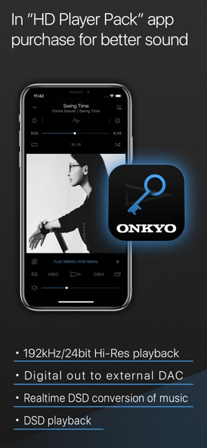 Onkyo HF Player - Hi-Res Music on the App Store