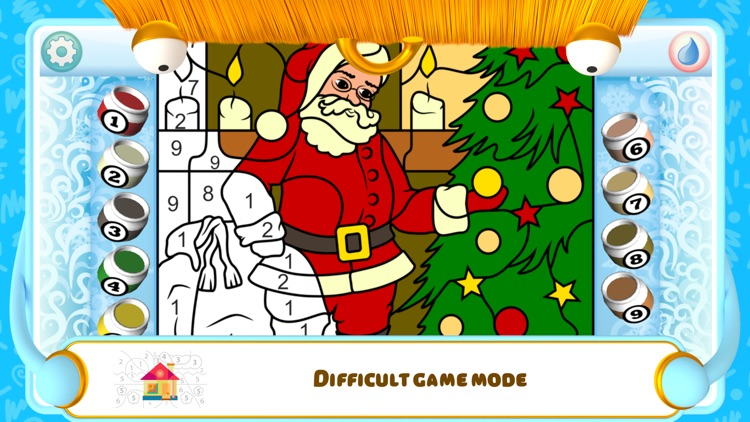 Color by Numbers - Christmas screenshot-3