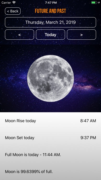 Moon Phase Plus Professional screenshot-3