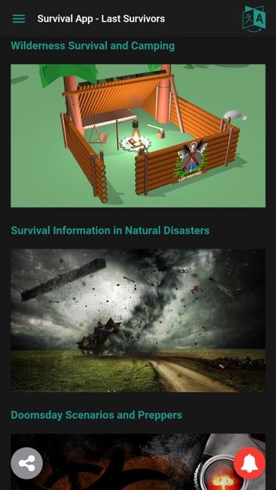 Survival App - Last Survivors Screenshots