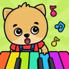 宝贝天天弹钢琴谱曲早教-儿童音乐启蒙早教游戏