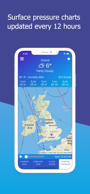 Map Of Uk Weather.Uk Weather Maps And Forecast On The App Store