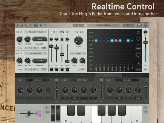 Factory - Modular Synthesizer screenshot 3
