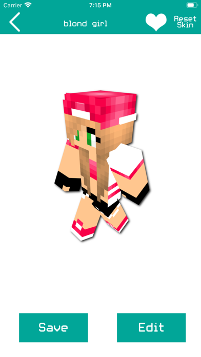 Girl Skins for Minecraft PE !!のおすすめ画像2