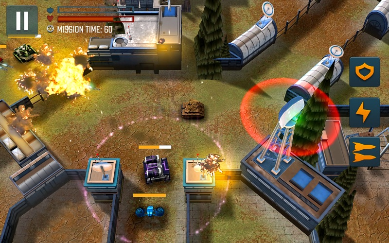 Tank Battle Heroes: PvP Brawls screenshot 2