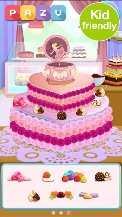 Cake maker Cooking games screenshot-0