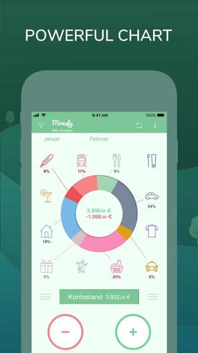 Monefy: Ausgaben managerScreenshot von 1