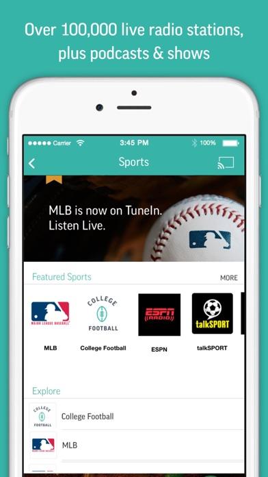 Screenshot for TuneIn Radio Pro in Singapore App Store
