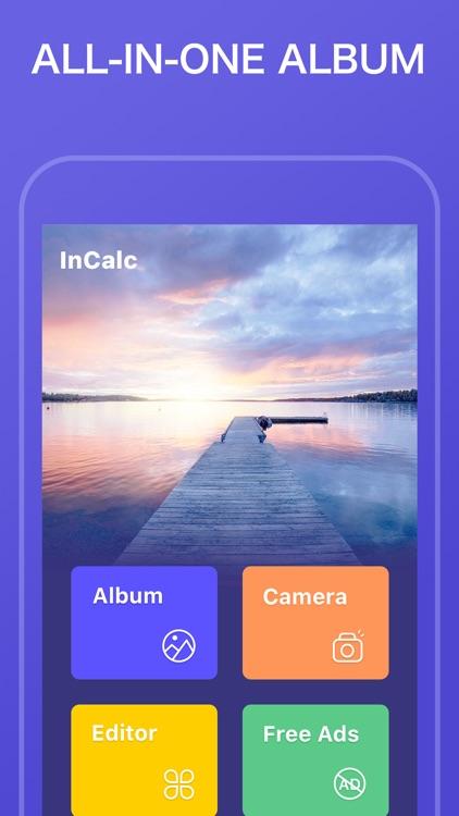InCalc Photo Album Hide Photos screenshot-7
