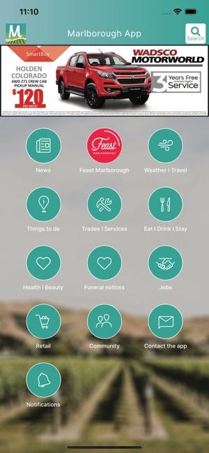 The Marlborough App on the App Store