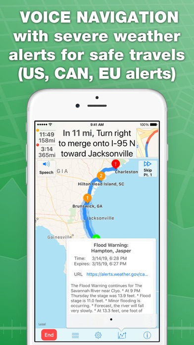 inRoute Route Planner Screenshot