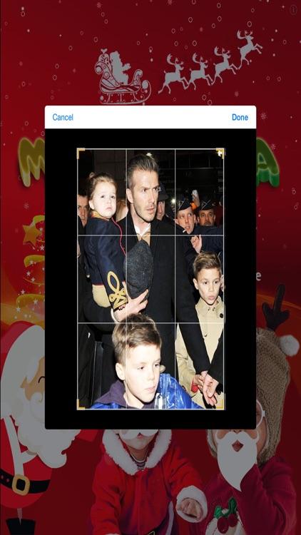 Make Santa Claus - Xmas Booth screenshot-3