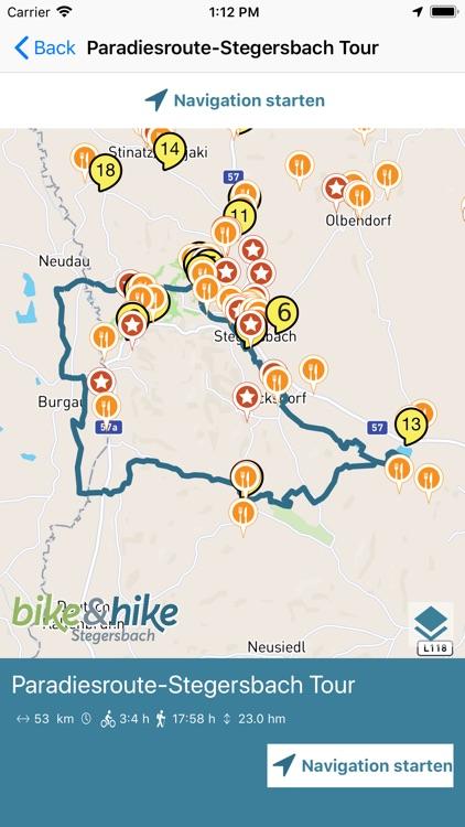 bike&hike screenshot-4