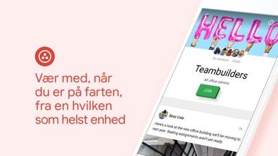 Screenshot for Google+ til G Suite in Denmark App Store
