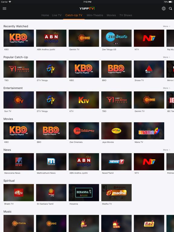 YuppTV - Live TV & Movies - Revenue & Download estimates