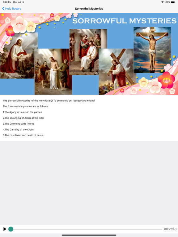 Holy Rosary With Audio & Text screenshot 8