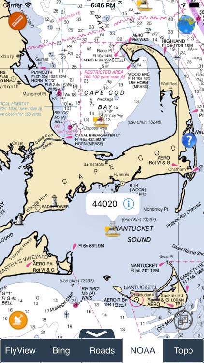 NOAA Buoys - Charts & Weather screenshot-5