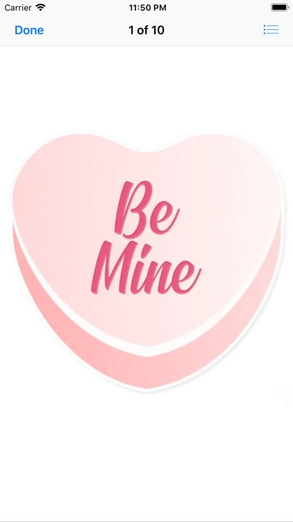 Candy Hearts Love