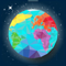 App Icon for StudyGe-World map geography App in Argentina App Store