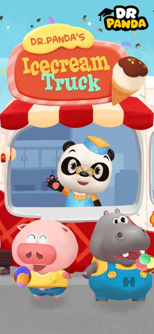 Dr. Panda's Ice Cream Truck Screenshot