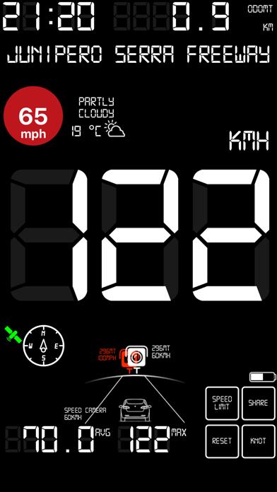 スピードメーターmphデジタルディスプレイのおすすめ画像10