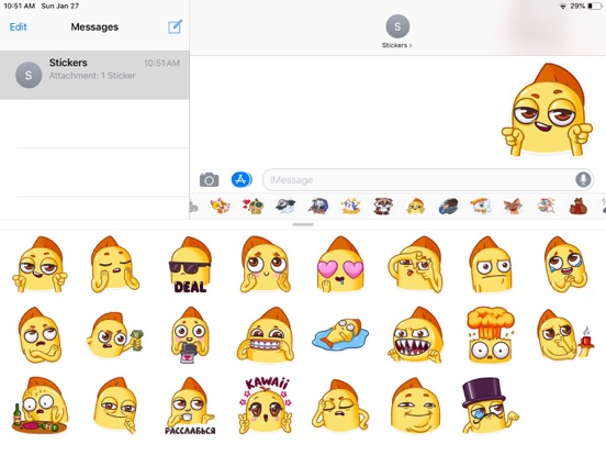 Snappy Emoji Funny Stickers screenshot 3