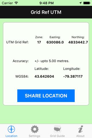 Grid Ref UTM - náhled