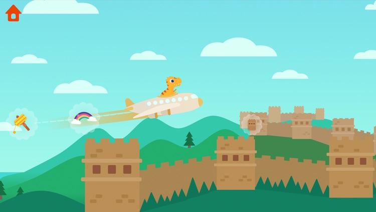 Dinosaur Plane - Game for kids