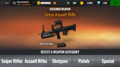 Sniper 3D: Jeu de Tir pour Android