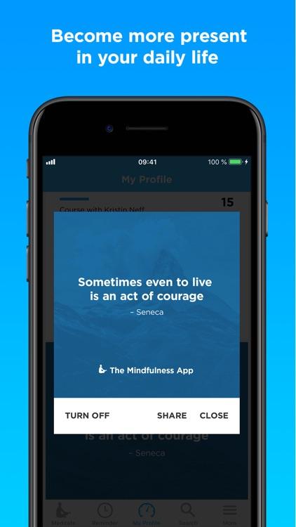 The Mindfulness App: Meditate screenshot-3