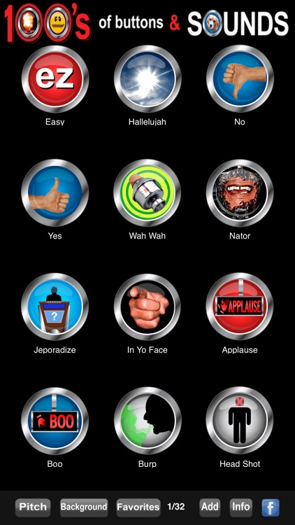100's of Buttons & Sounds Pro screenshot-3