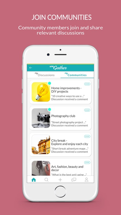 WeGather - Chat with experts screenshot-4