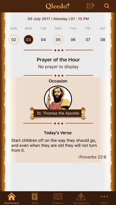 Qleedo+ (Orthodox Prayers)Screenshot of 1