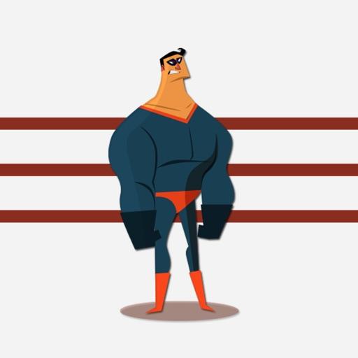 Comic Superhero Stickers