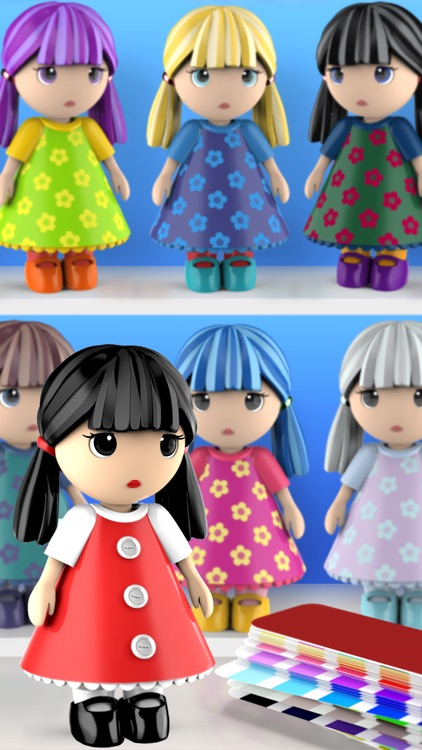 ColorMinis Kids-Color by Shape screenshot-3