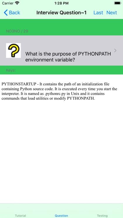 Tutorial for Python