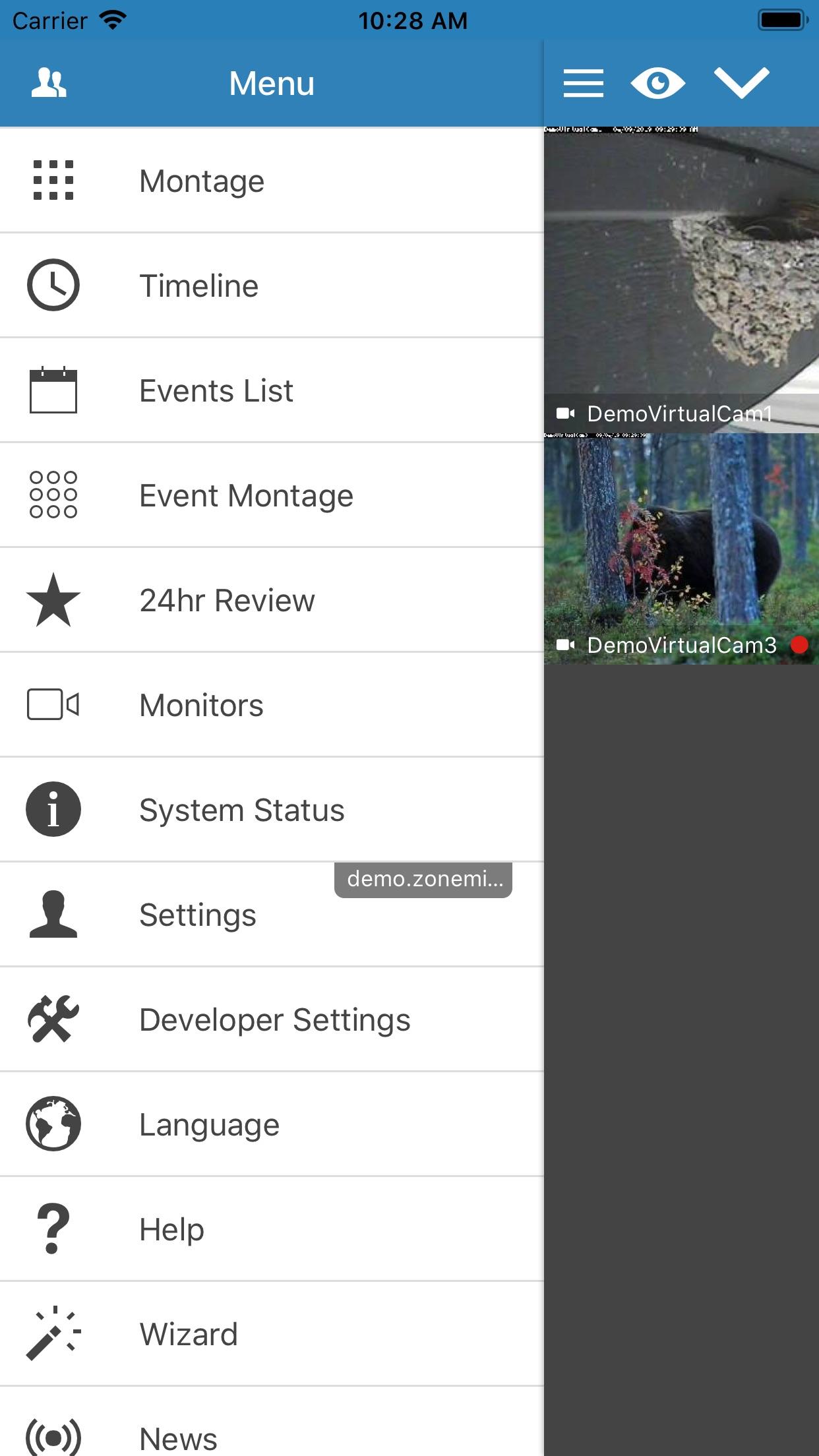 zmNinja-pro Screenshot