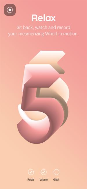 Aplikacja Whorl Playful Art Design W App Store