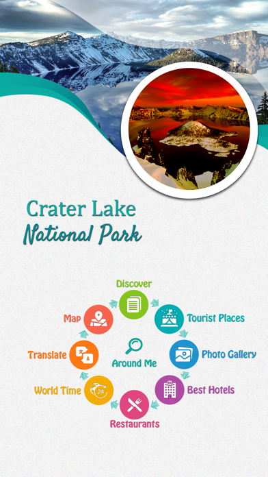 Crater Lake National Park screenshot 2