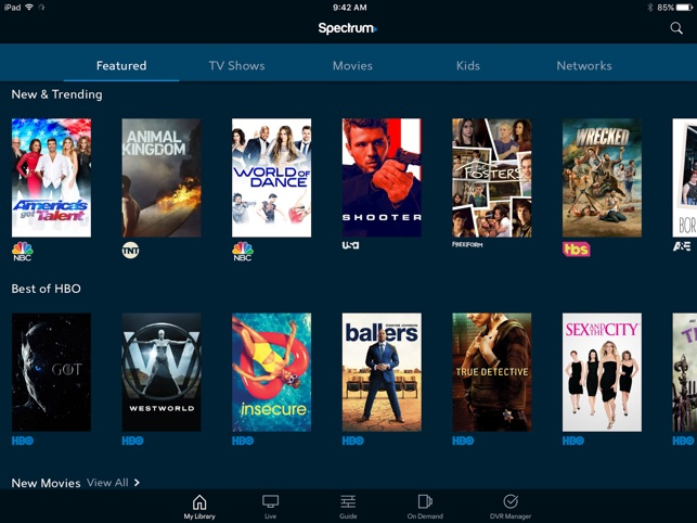 Spectrum TV on the App Store