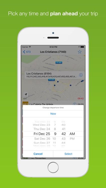 Tenerife Public Transport screenshot-4