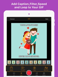 GIF Maker - Make Video to GIFs ipad images